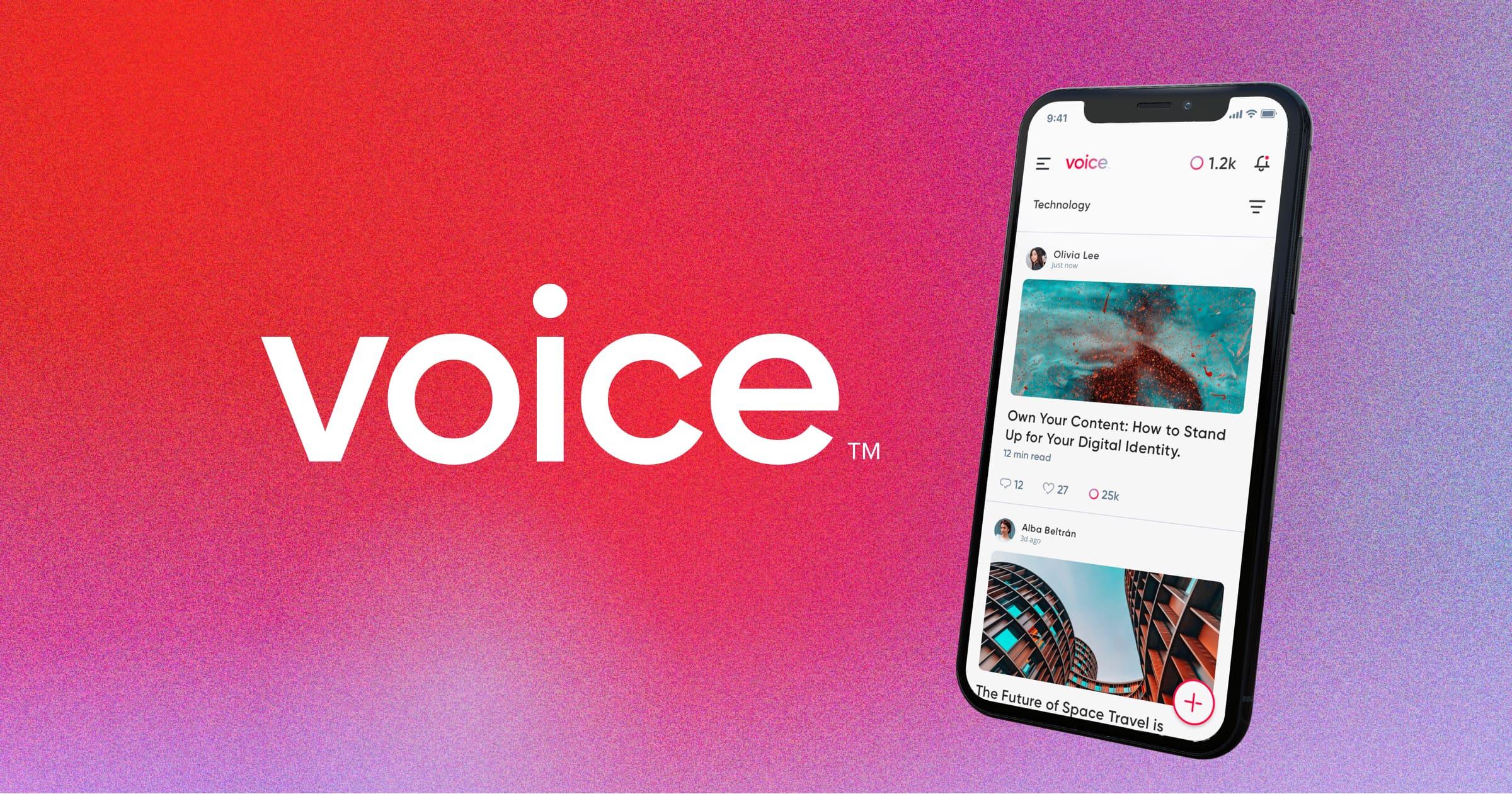 Confirman el lanzamiento de la red social blockchain Voice para el mes de julio
