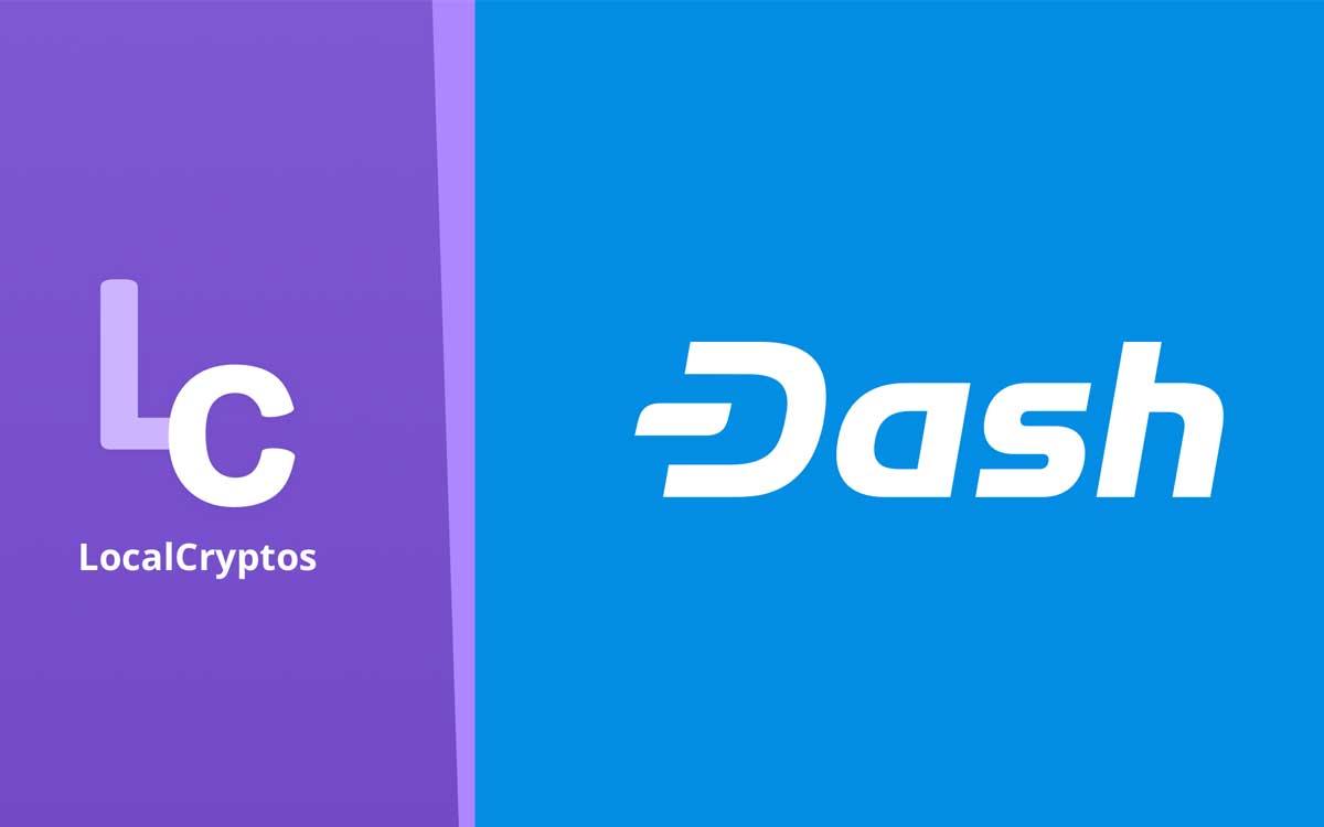 Dash será incluida en el intercambio LocalCryptos