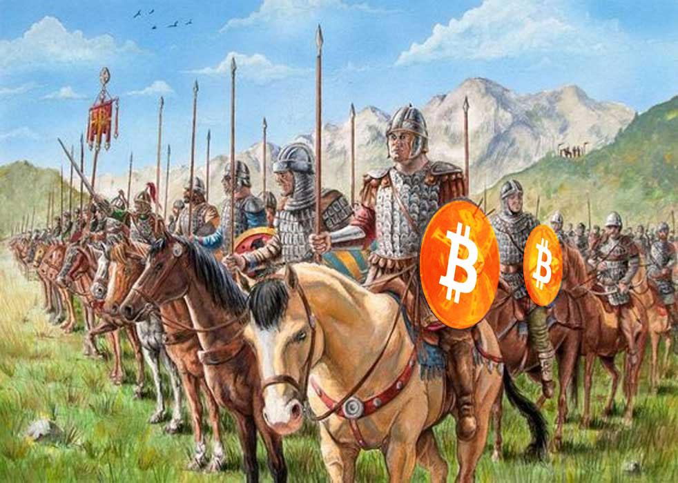 Bitcoin, consenso global descentralizado emergente.