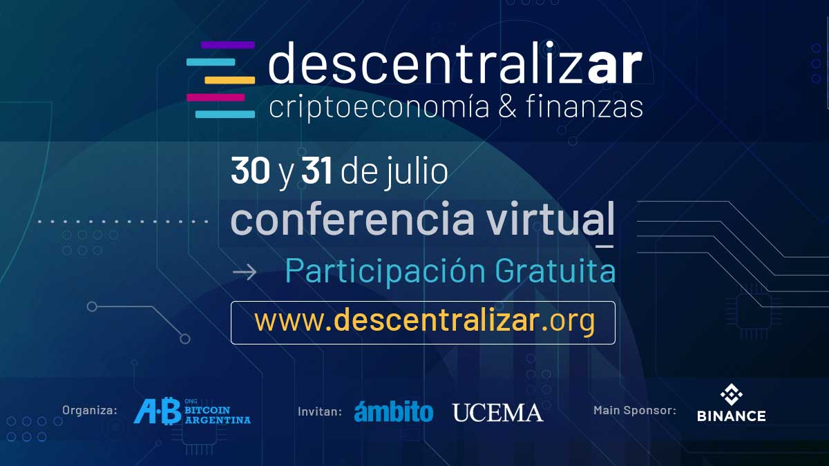 Descentralizar, conferencia virtual enfocada en el debate sobre tecnologías para la descentralización