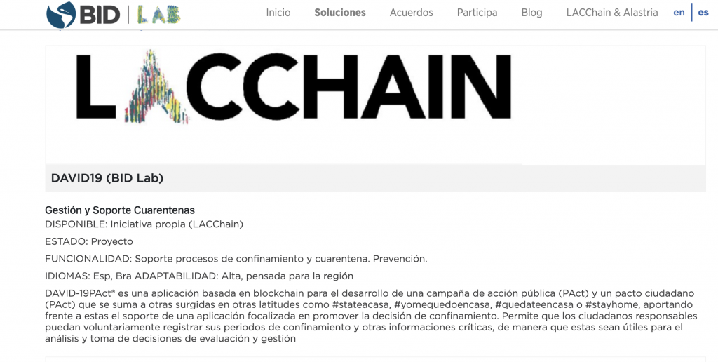 lacchain bid lab idb lab blockchain