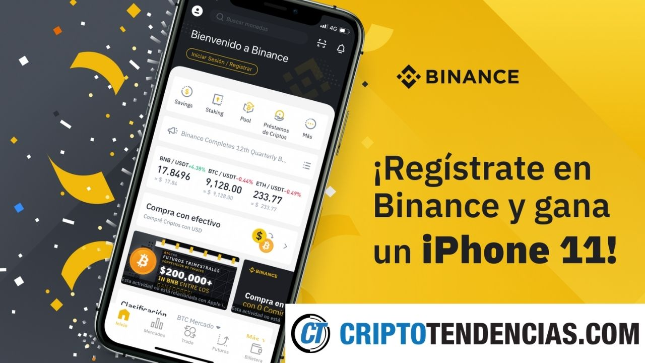 iphone binance criptotendencias