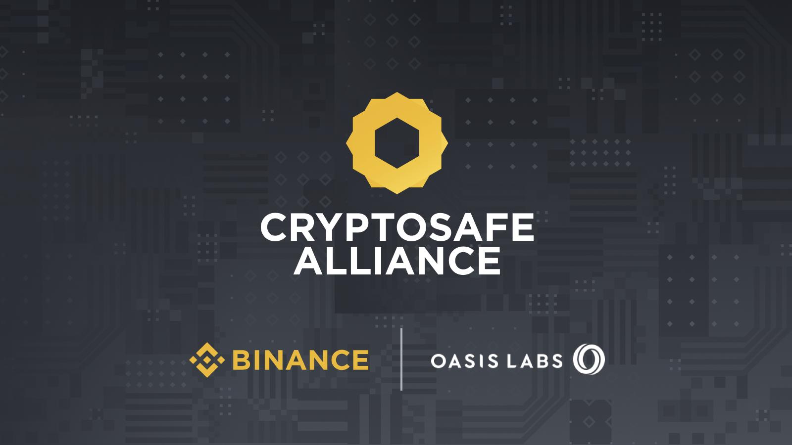 Binance forma la Alianza CryptoSafe junto a Oasis Labs para analizar fraudes en el mundo criptográfico