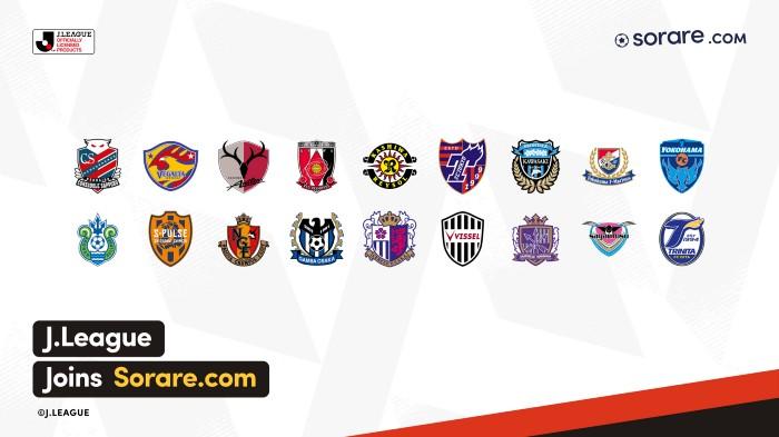 Sorare añade entre sus licencias a la J-League, la liga de fútbol en Japón