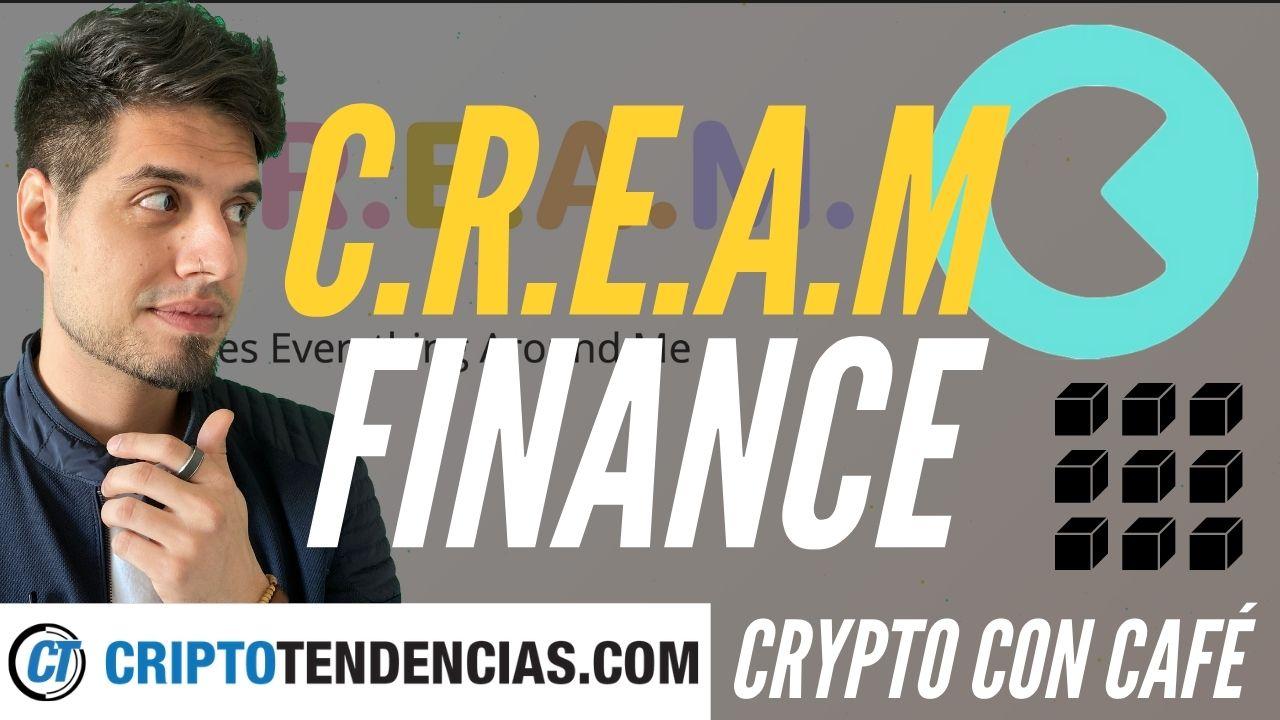 cream.finance criptotendencias crypto con cafe defi