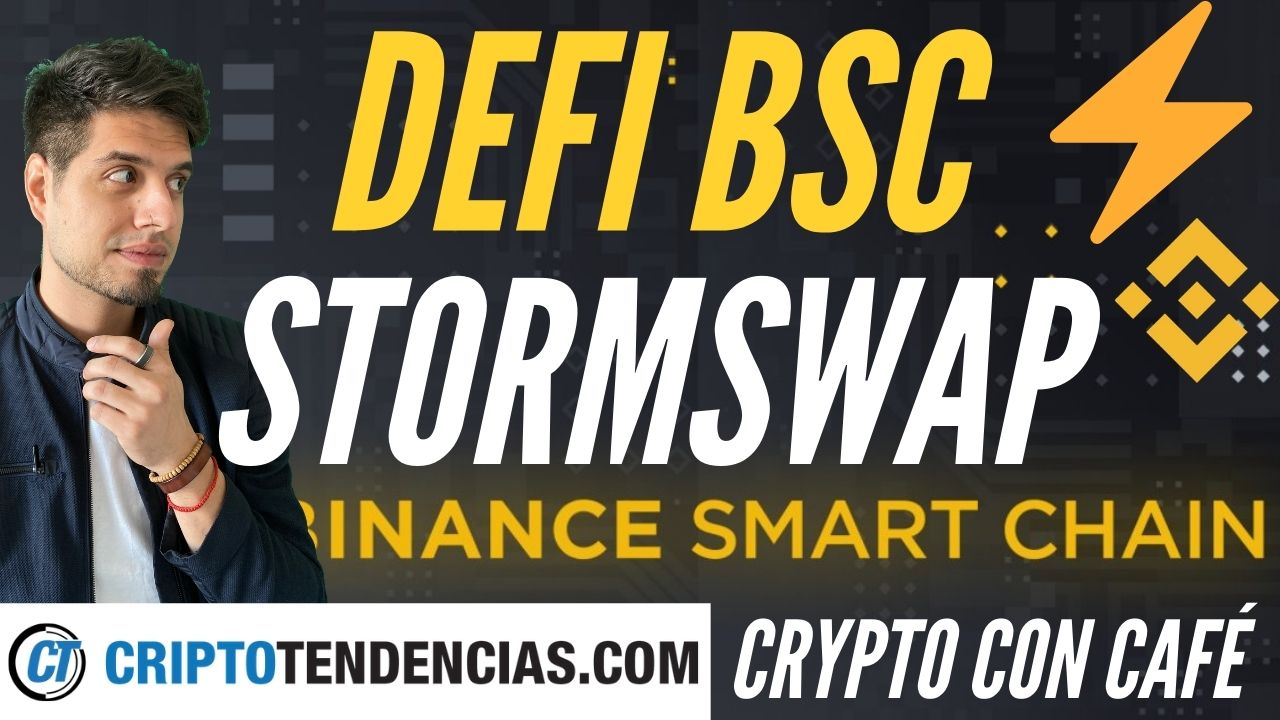 stormswap crypto con cafe binance smart chain