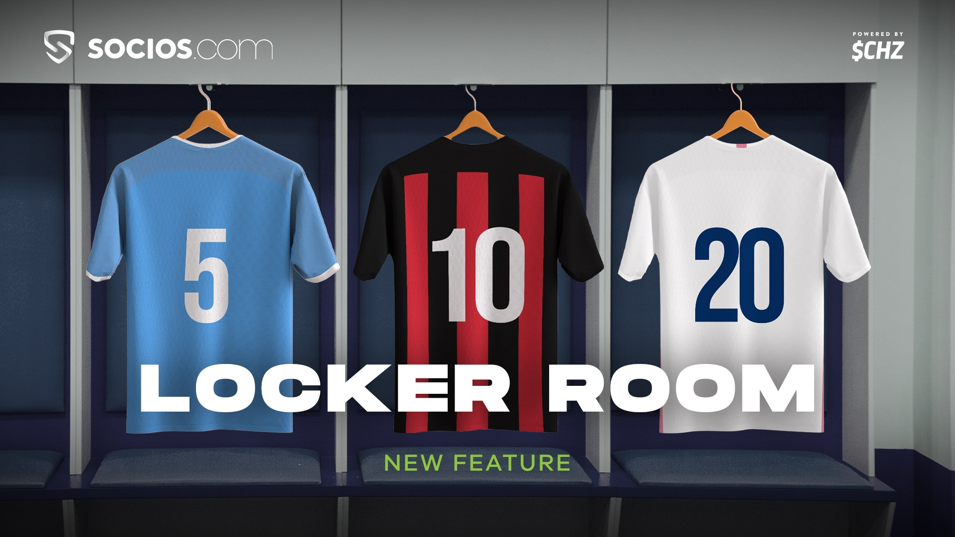 Chiliz y su app blockchain Socios presentan Locker Room, con nuevos tokens y la mirada en más alianzas con grandes equipos del fútbol mundial