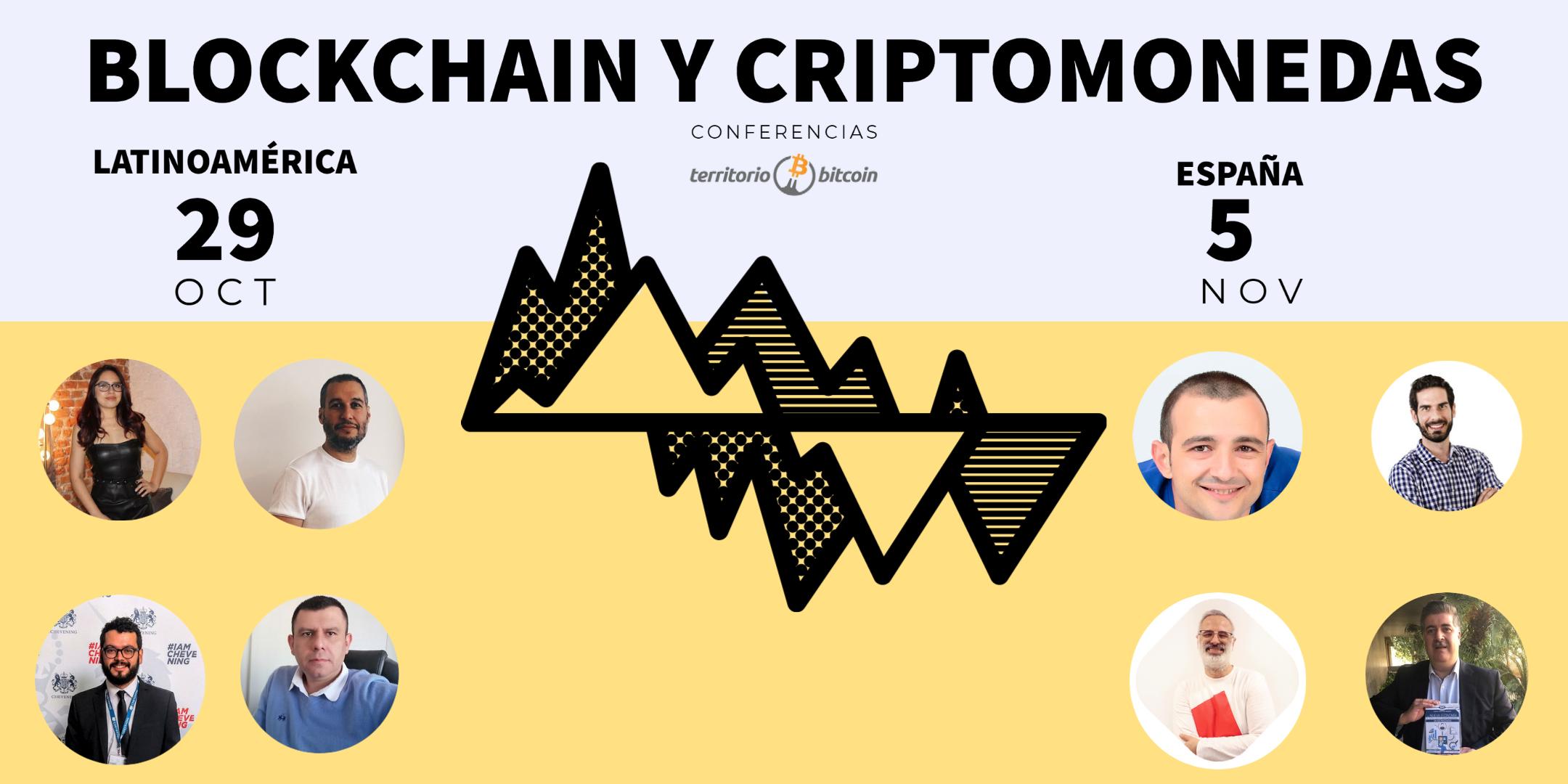 """Territorio Bitcoin tendrá nuevo ciclo de conferencias sobre """"Blockchain y Criptomonedas"""""""