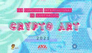 Abierta convocatoria para el primer concurso internacional de ilustración digital «Crypto Art»