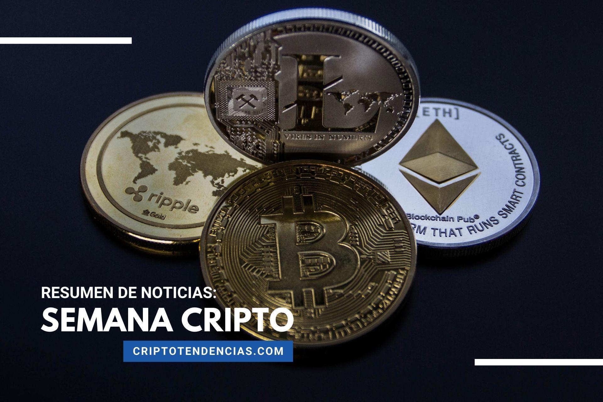 Repasamos las noticias más destacadas para Bitcoin y las criptomonedas en Semana Cripto