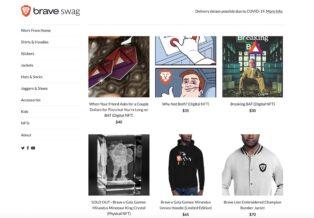 Brave y Origin se asocian para que el navegador soporte compras de NFT en su Swag Store