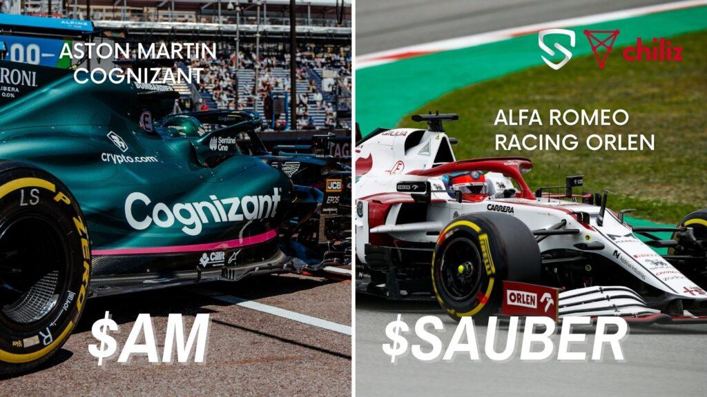 Tokens para fanáticos F1 Chiliz y Socios