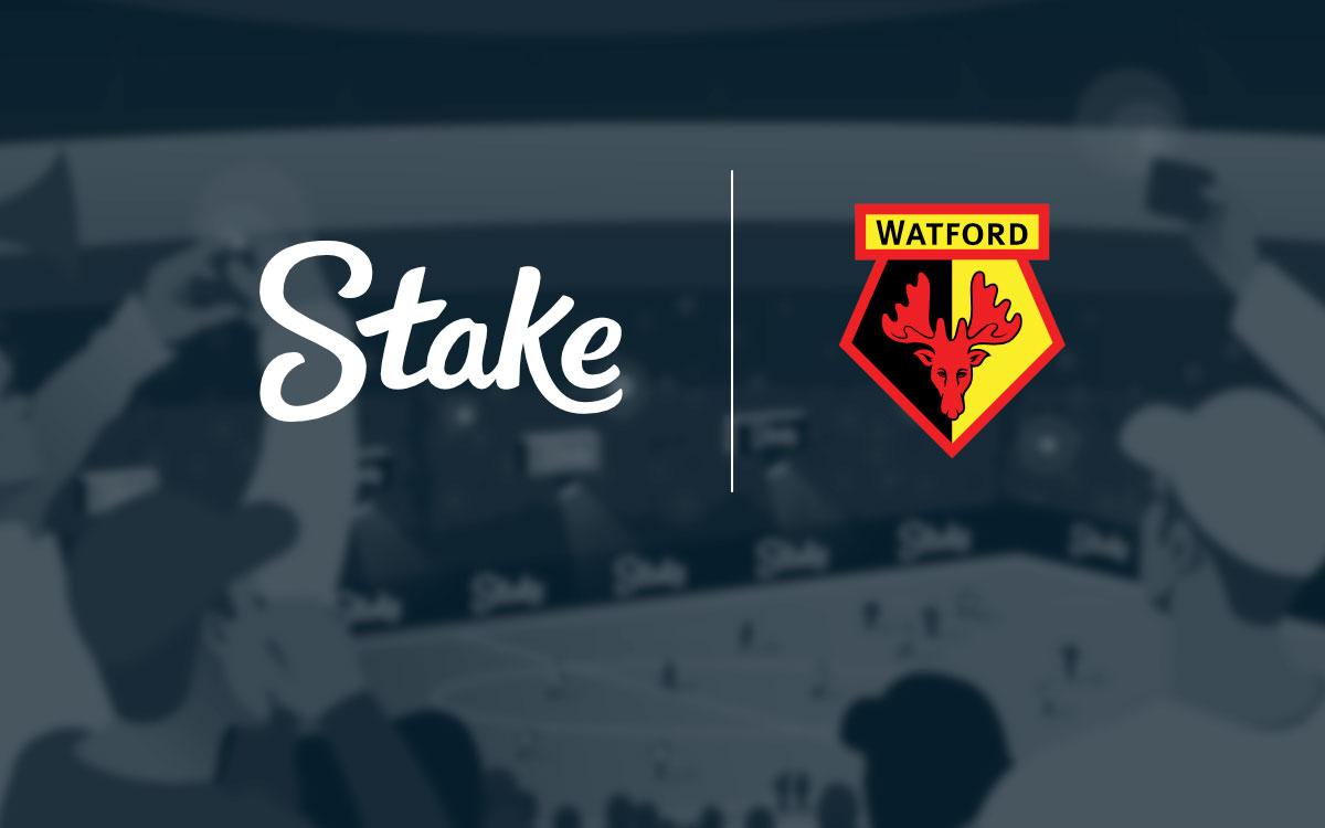 Watford fc y stake.com anuncian una nueva asociación de varios años