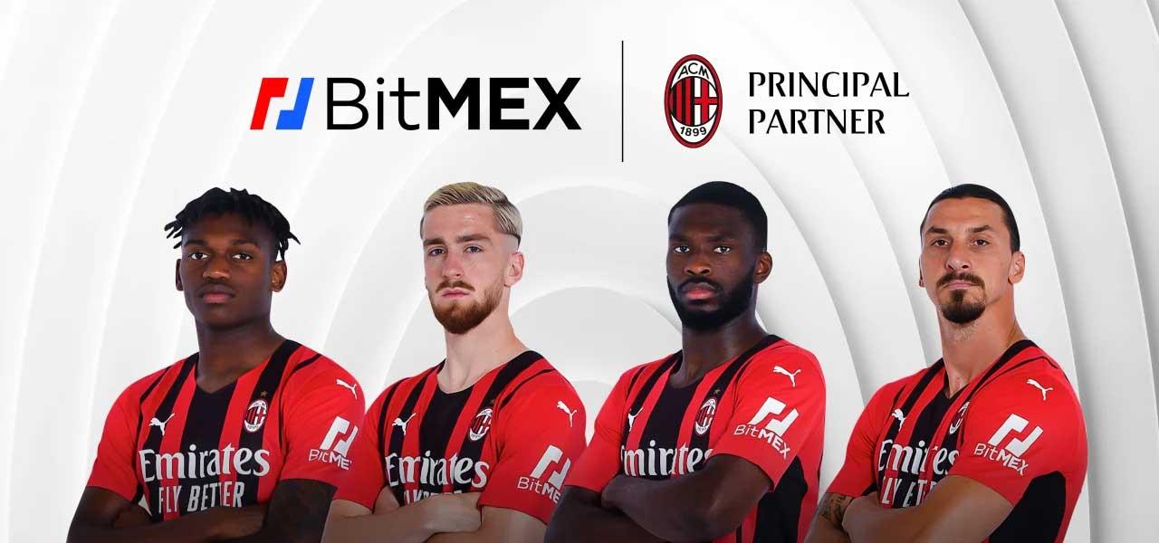 BitMEX será patrocinador del AC Milan